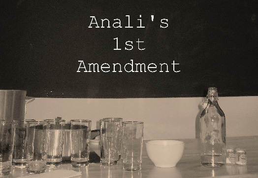 Anali's First Amendment