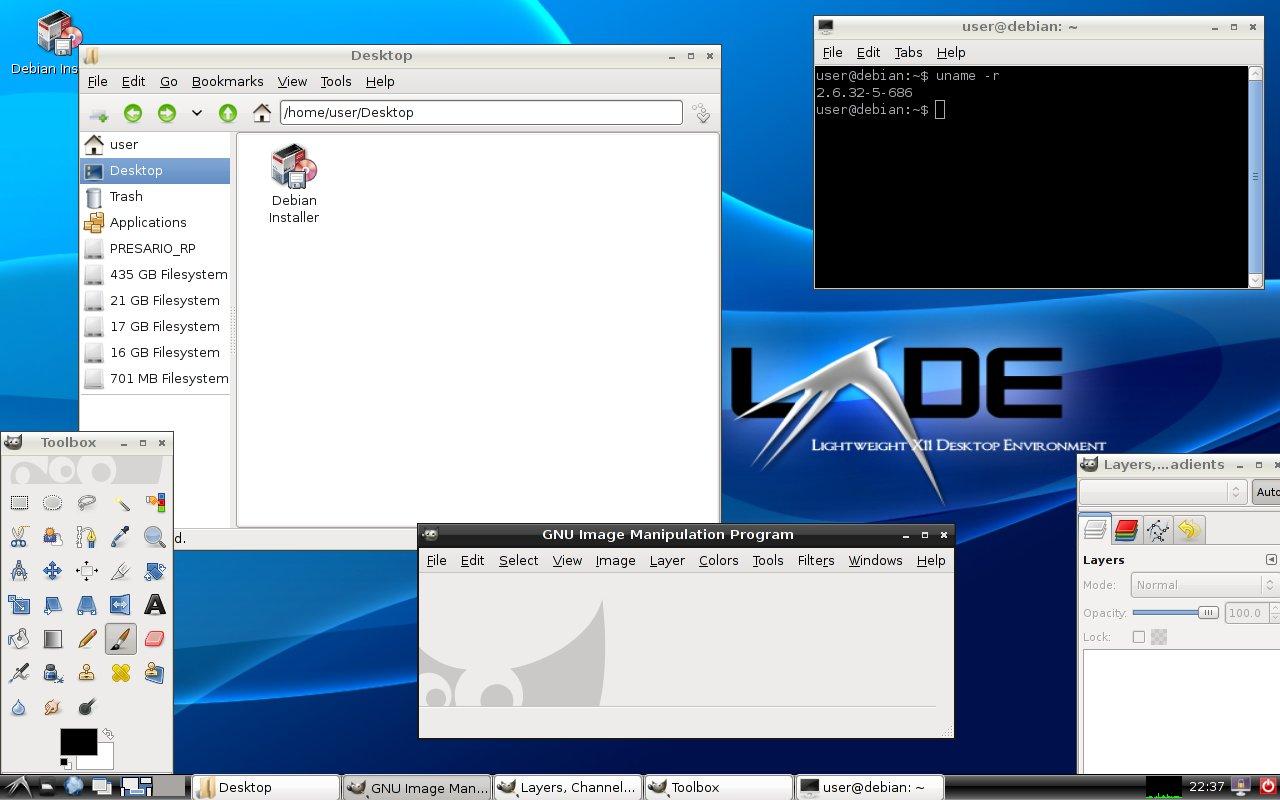 Debian LXDE Live – is it still Debian? - creatorb