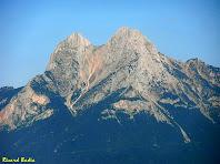 Zoom al Pedraforca des del Roc dels Quatre Batlles. Autor: Ricard Badia