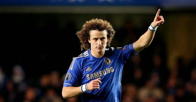 David Luiz con el Chelsea