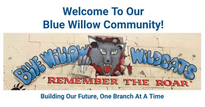 Welcome to BLUE WILLOW Public School!