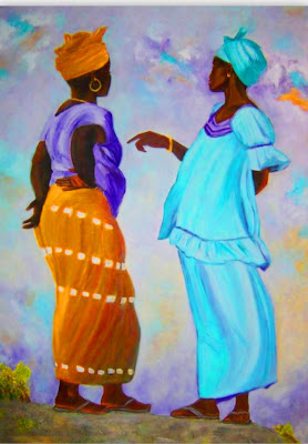 Cuadros modernos cuadros bonitos negras africanas for Cuadros bonitos y modernos