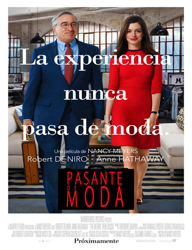 Ver Pasante de moda (The Intern) (2015) Online