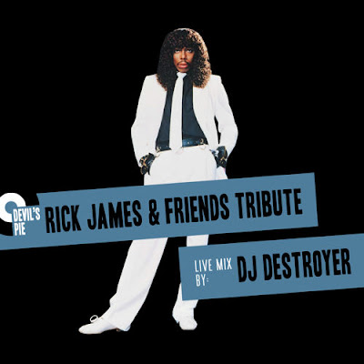 DJ Destroyer - Devil's Pie Rick James & Friends Tribute Mix (2014)