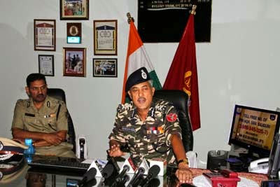Shri Bansidhar Sharma IPS Director General SSB inaugurates toll free number to inform anti national activities on crimes