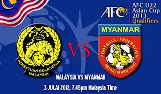 Keputusan Myanmar Malaysia kalah
