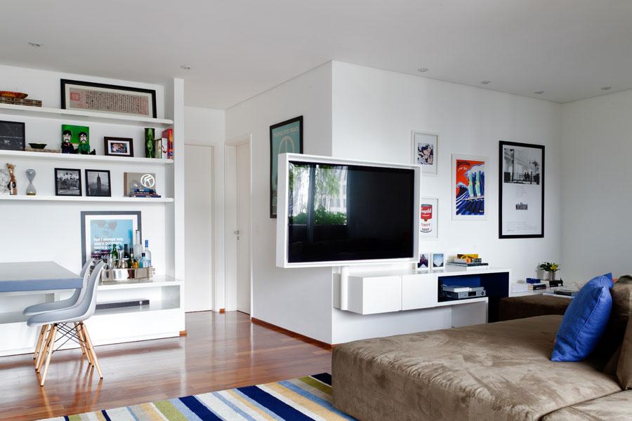 decoracao de sala jovem:Oficina de Arquitetura: Inspiração da Semana – Tv com suporte