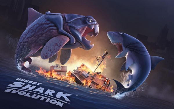 Hungry Shark Evolution v3.7.4 Mod APK