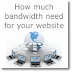 How much bandwidth you need to build website