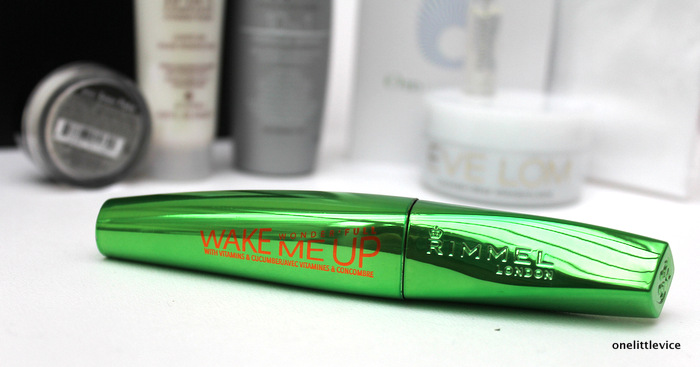 one little vice beauty blog: rimmel wake me up mascara