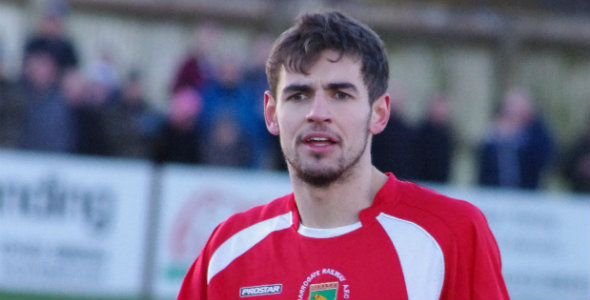 Joel Dixon in action for Harrogate Railway