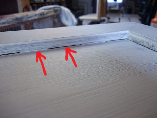 2012 08 19 everything i create paint garage doors to for Caulking kitchen cabinets