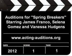 Feature Film Spring Breakers Casting