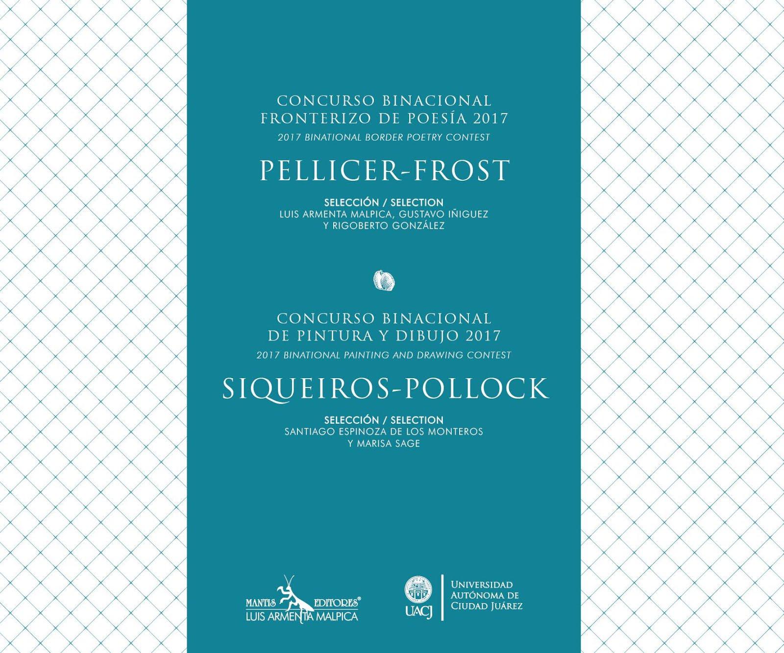 Premio Binacional de Poesía Pellicer – Frost 2017