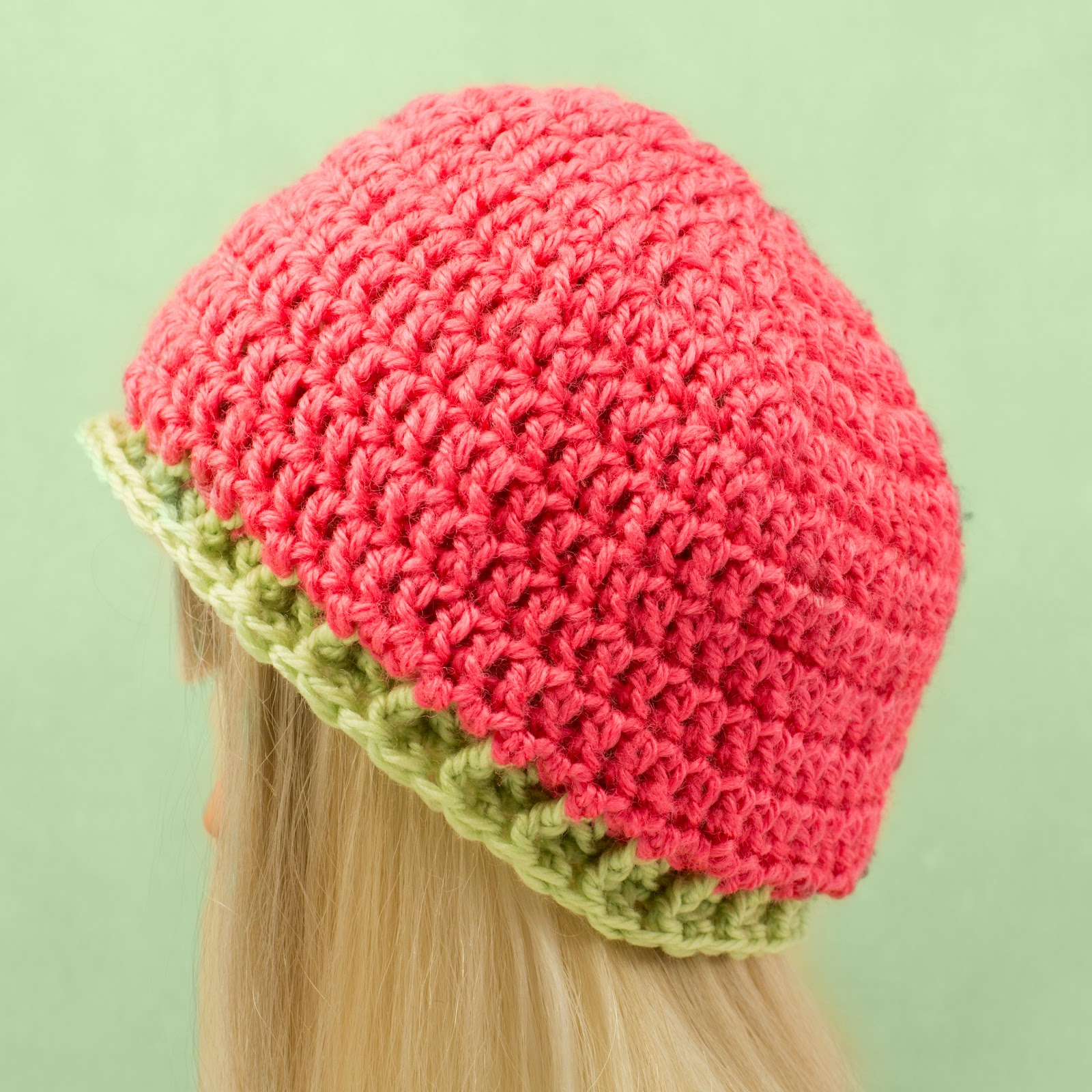Crochet Basic Beanie Hat Pattern : Hopeful Honey Craft, Crochet, Create: Apples & Boxes ~ 6 ...