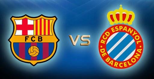 Poker Online : Prediksi Skor Barcelona vs Espanyol 7 Desember 2014