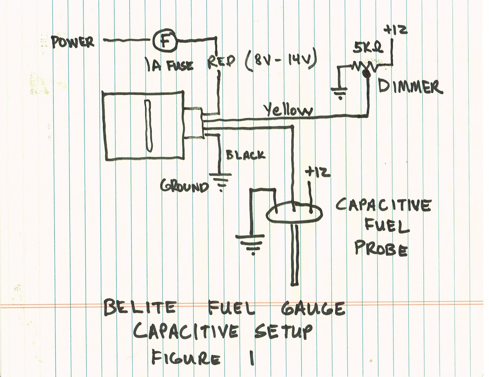 Belite Ultralight Blog  Manual For New Universal Led Fuel Gauge From Belite Electronics