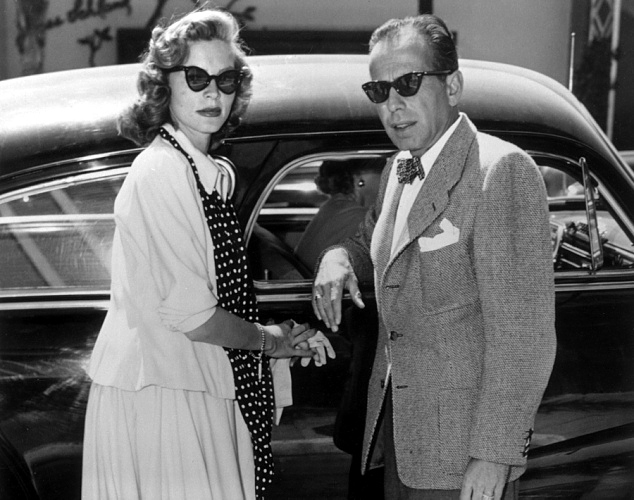 Bespectacled birthdays lauren bacall for Lauren bacall married to humphrey bogart