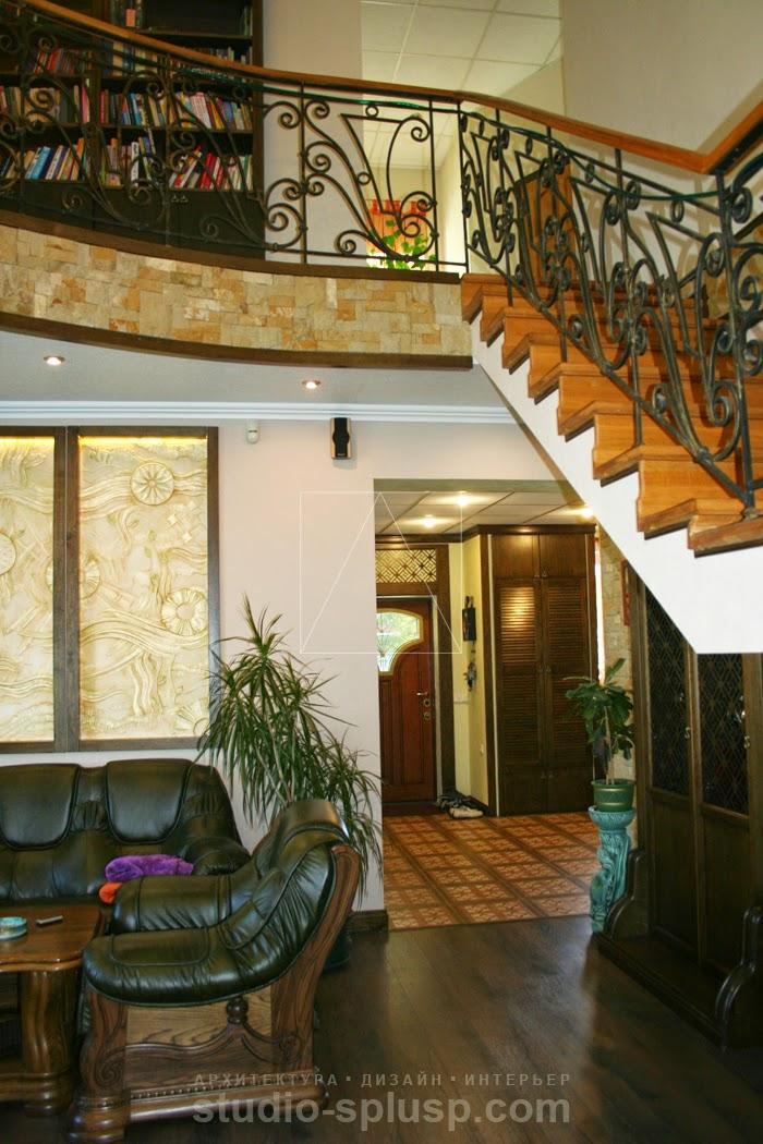 Дизайн интерьера каминного зала в колониальном стиле