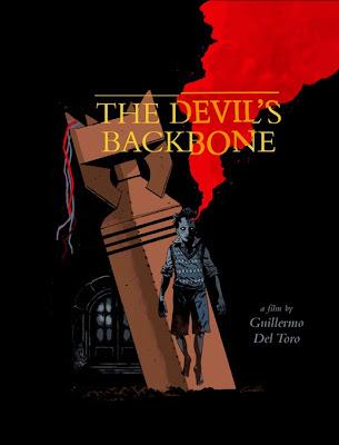 The Devil's Backbone Screen Print by Guy Davis