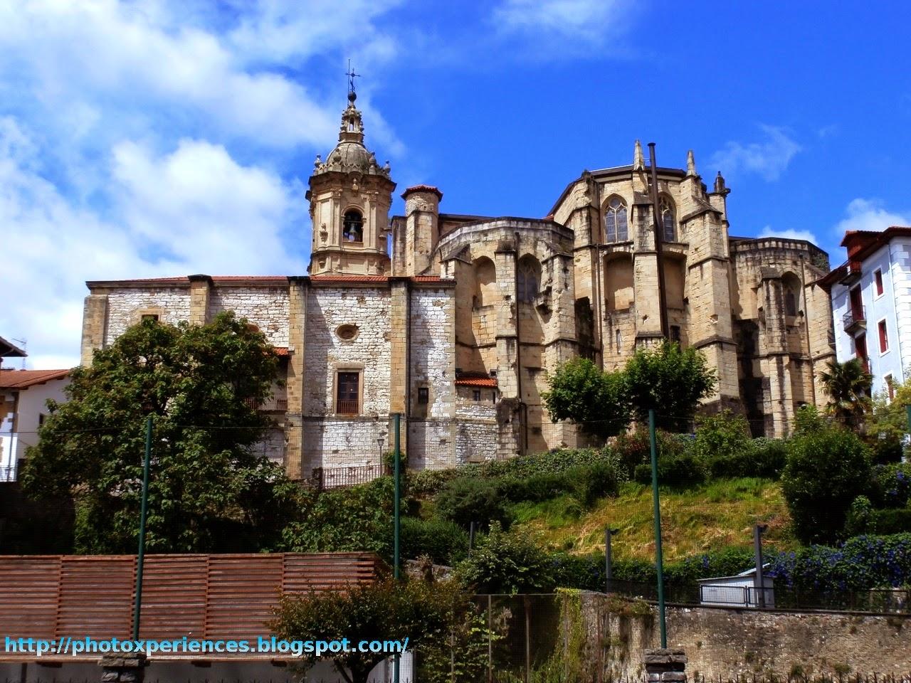 Iglesia parroquial de Santa María de la Asunción y del Manzano en Hondarribia - Fuenterrabía
