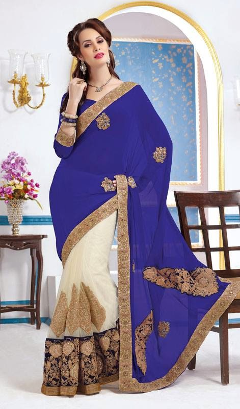 Indian Wedding Sarees Collection 2014-15