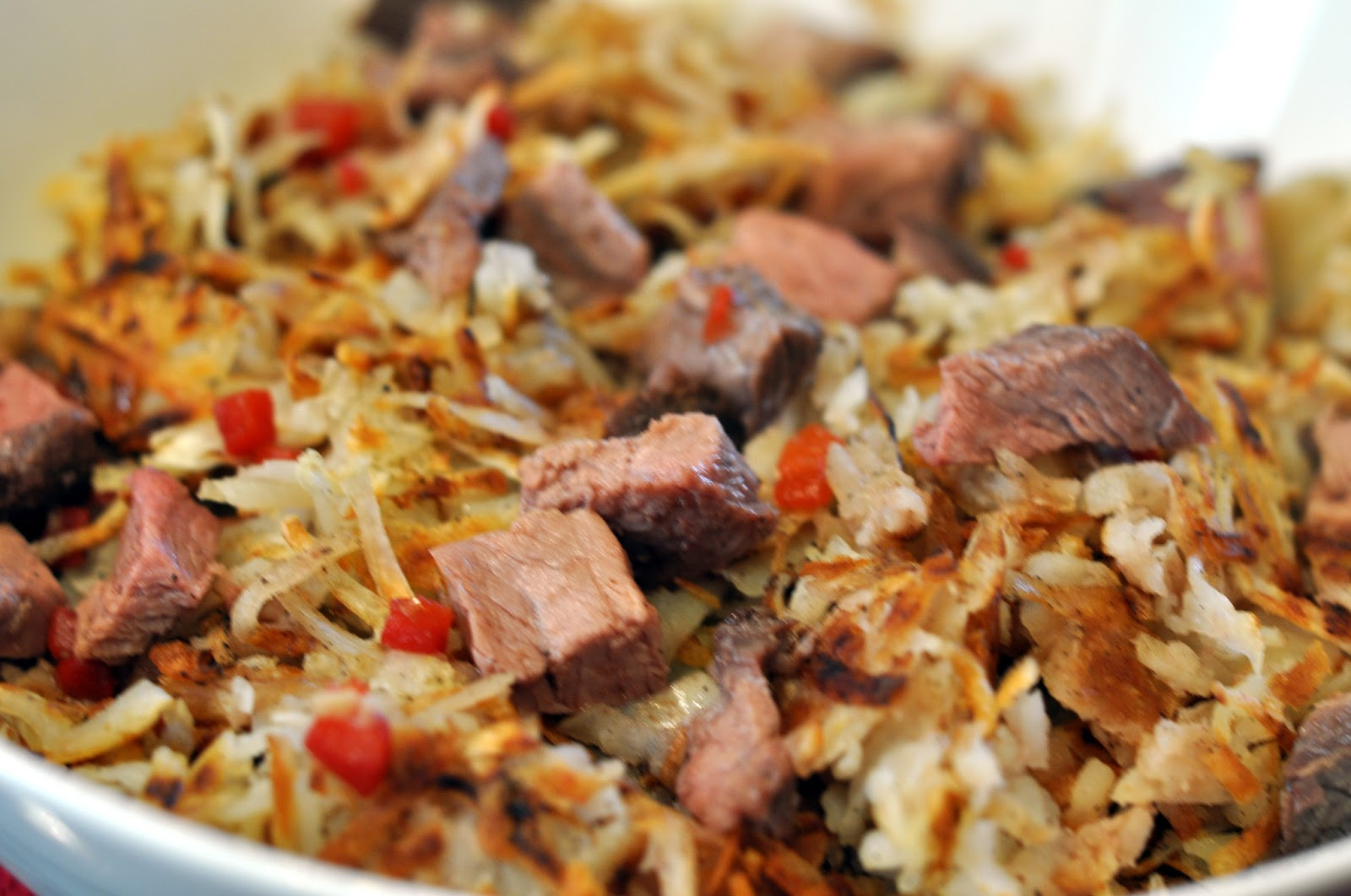 Horseradish Hash Browns Recipe — Dishmaps