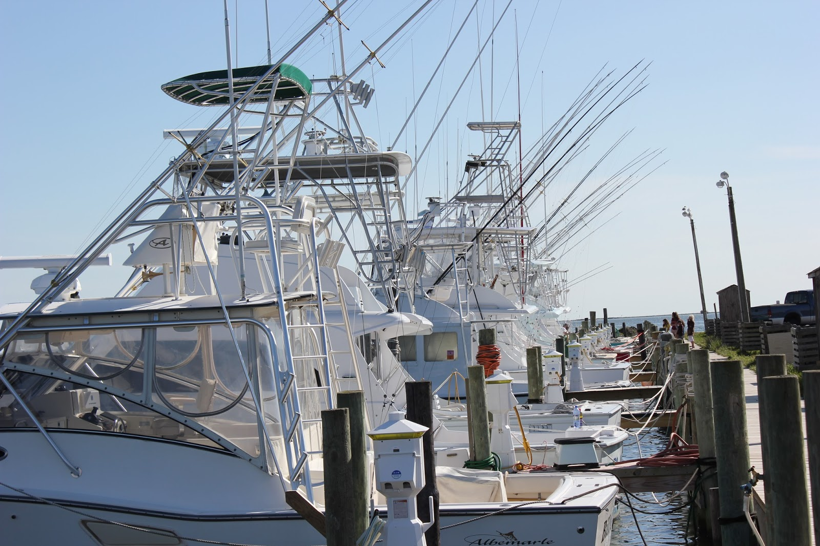Carolina foodie hwy 12 south hatteras ocracoke for Oregon inlet fishing charters