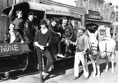Bob Geldof and the Boomtown Rats at Knotts Berry Farm, 1981