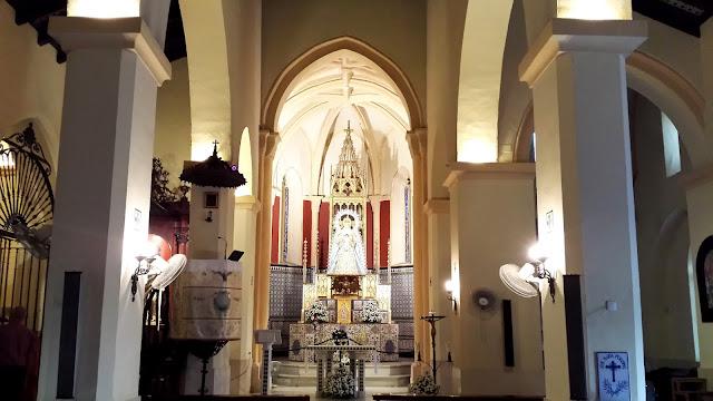 Cultos en honor a la Virgen del Águila Coronada de Alcalá de Guadaíra