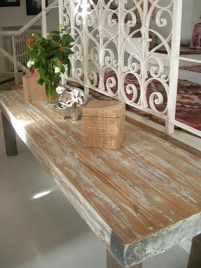 mesa/banco pinotea
