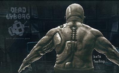 Dead Cyborg - Game feito com a Engine Blender