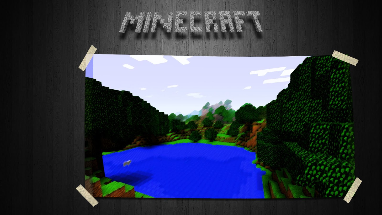 most recent minecraft hd 1080p hd wallpaper backgrounds