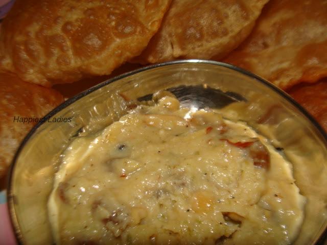 Puri Basundi Indian recipe+indian recipes