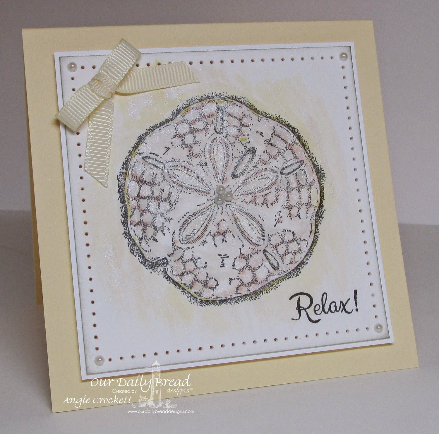 ODBD Ocean Treasures, Flip Flop Fun, Card Designer Angie Crockett