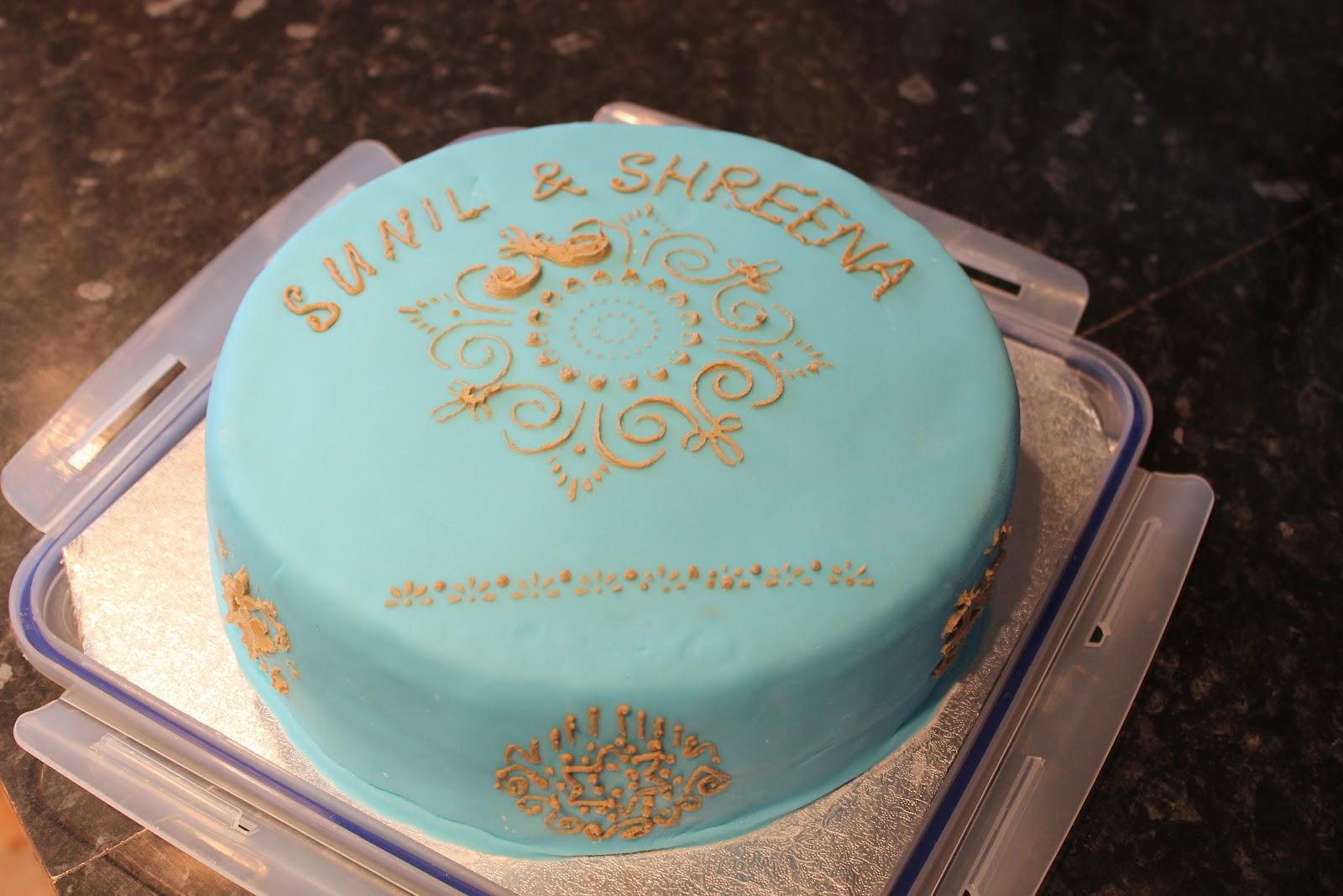 Bakehut My Mhendi Cake