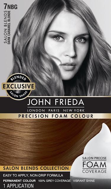 John Frieda Foam Hair Color Vibrancy Locking Sealant