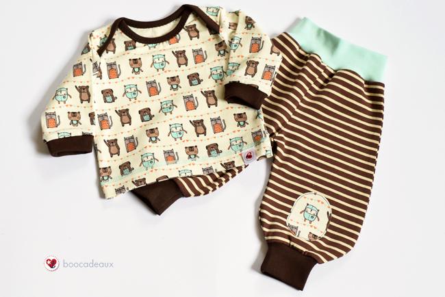 Freunde für immer - Babyshirt und Fridahose
