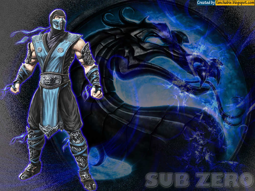 Sub Zero Mortal Kombat Wallpaper 1
