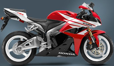 2012 Honda CBR600RR - Red-White