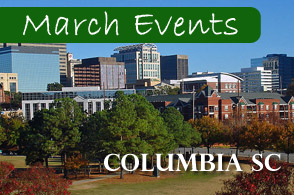 Columbia South Carolina March 2013 Events