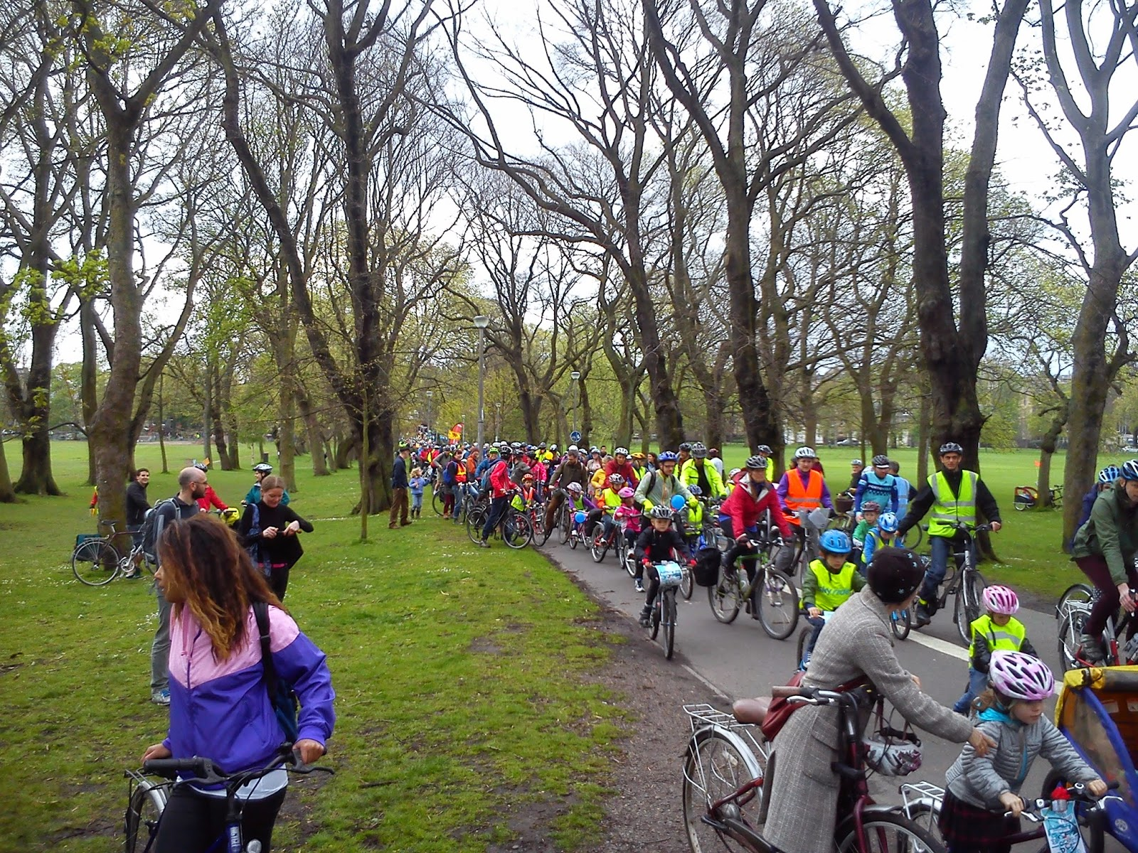 Pop 2014 - at the start of the route