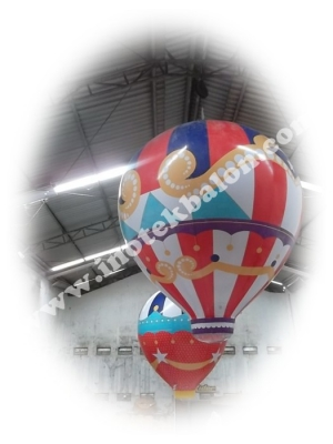 Balon udara unik dan lucu