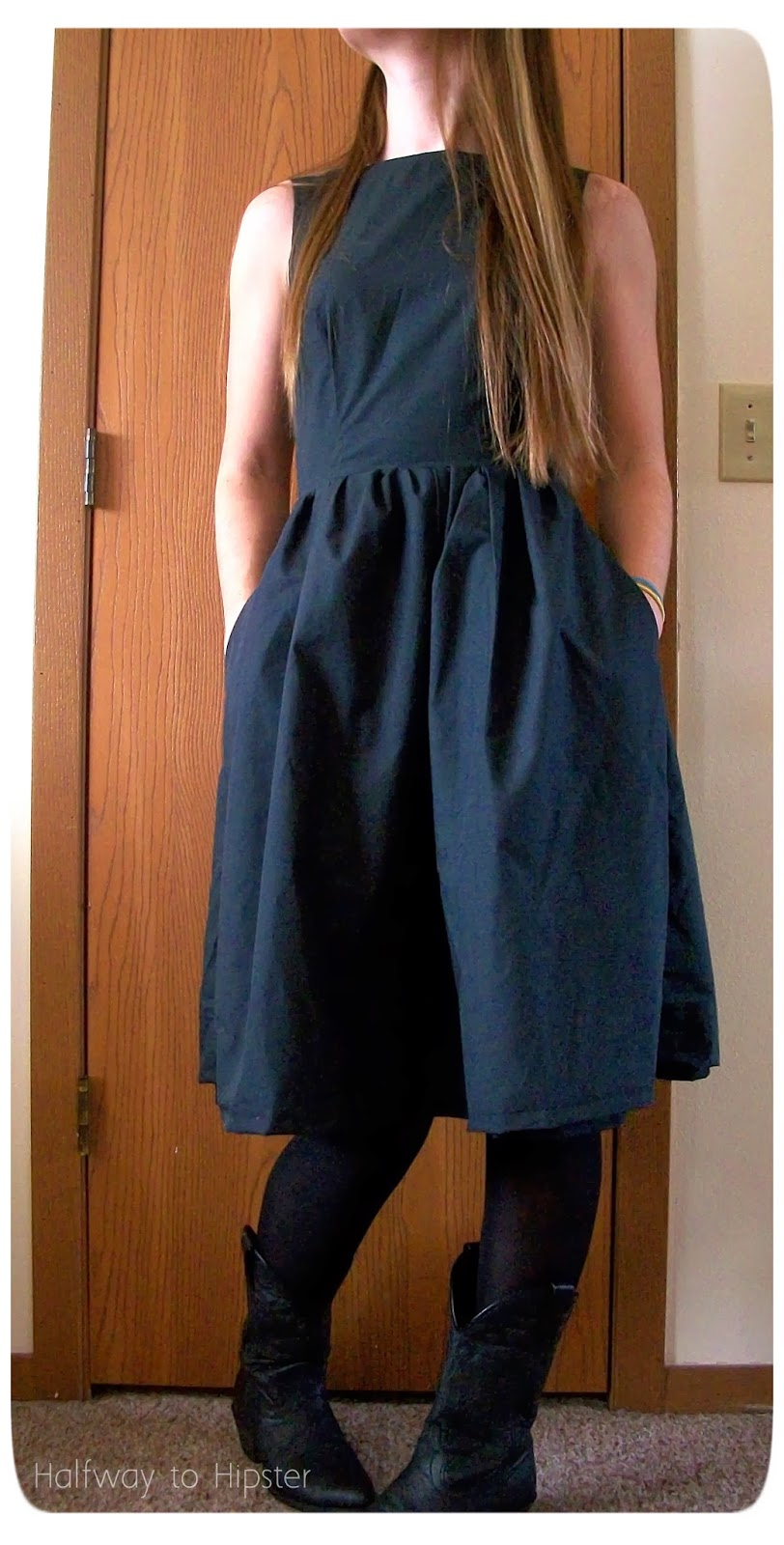 New Look Black Dress