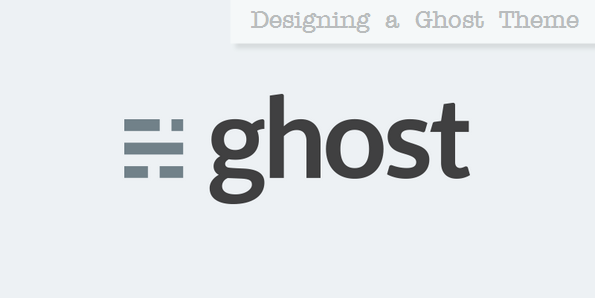 Ghost blogging platform logo