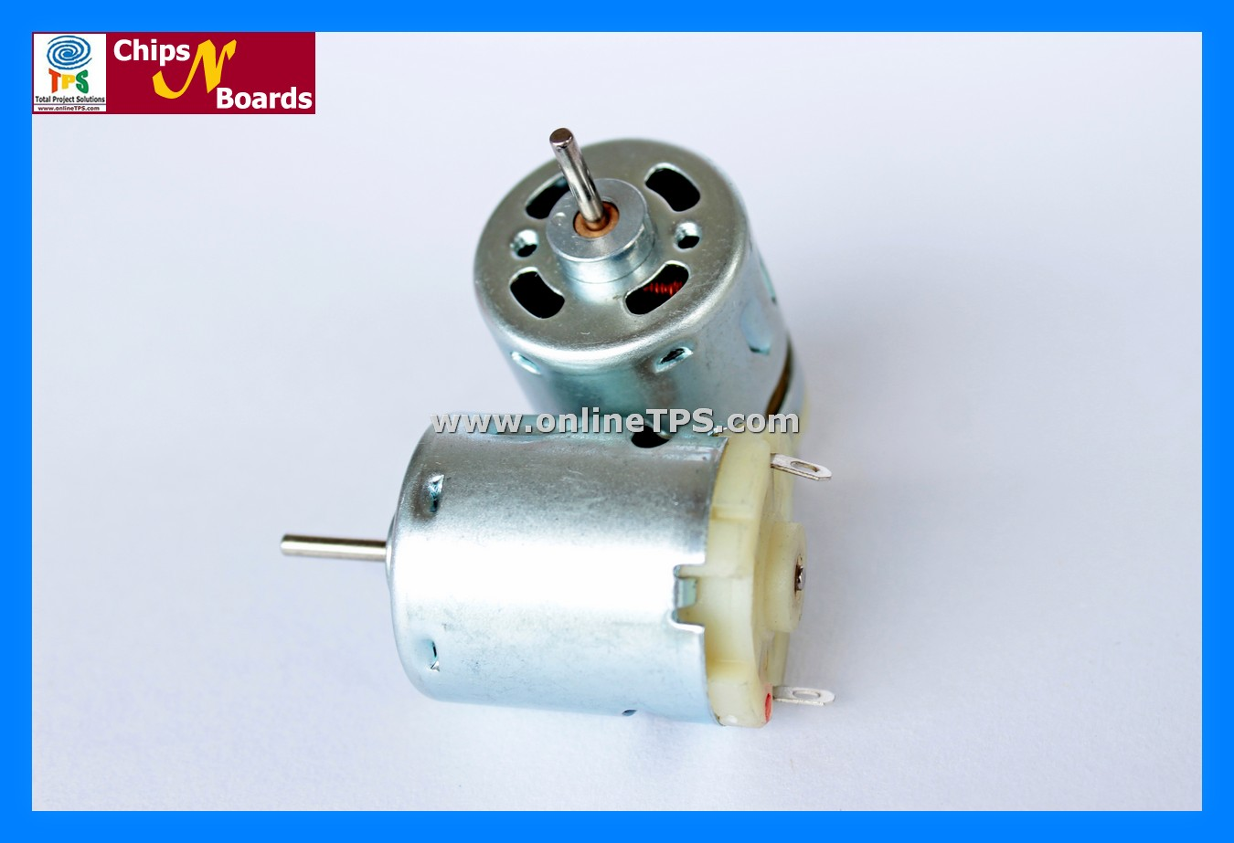 Chips N Boards Pmdc 12v High Rpm High Torque Motor And