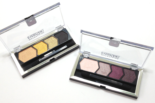 Maybelline Fall 2013 Collection Eyestudio Color Plush Silk Eyeshadow Palettes Desert Fantasy and Violet Femmes