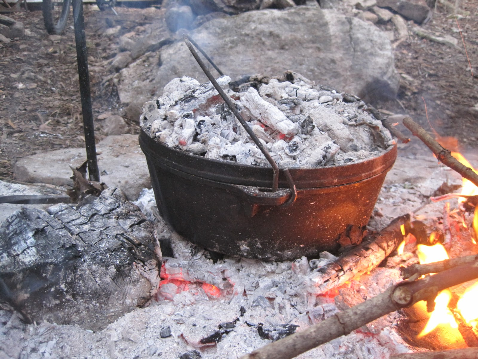 Reflections on our family 39 s journey down the road of life for How to cook in a dutch oven over a campfire