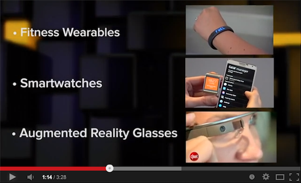 Fitness Wearables, Smartwatches and Augmented reality Glasses