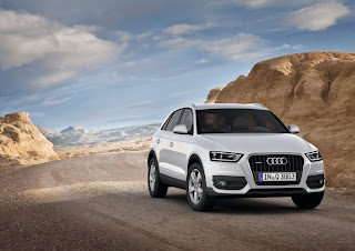 Audi Q3 en Bardenas